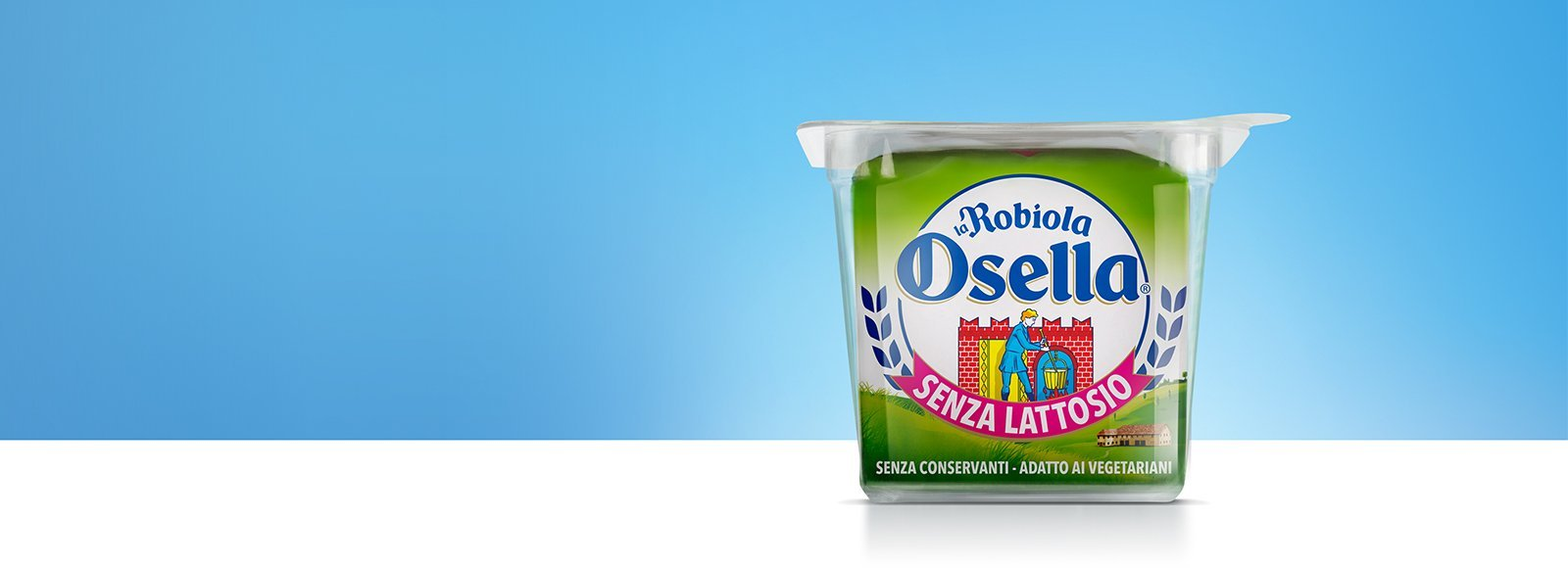 Robiola Osella Lactose Free