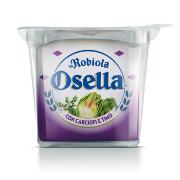 Robiola Osella with Artichoke and Thyme