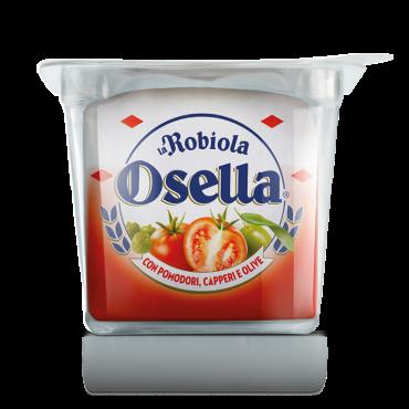 Robiola Osella  <br>con Pomodori, Capperi e Olive
