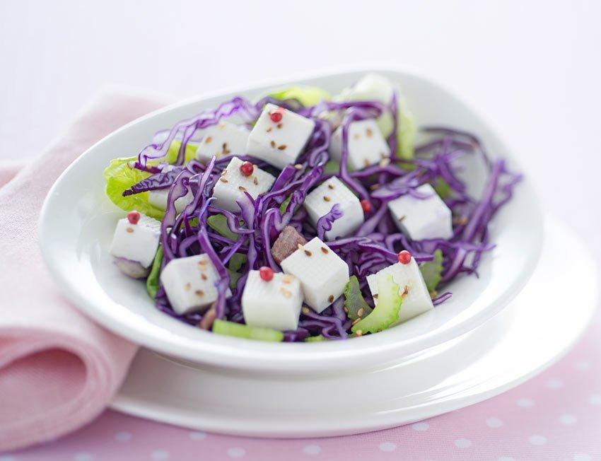 Insalata croccante con Linea Osella - Ricette Fattorie Osella per Pink is Good