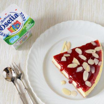 Cheesecake con Robiola e Ricotta Osella
