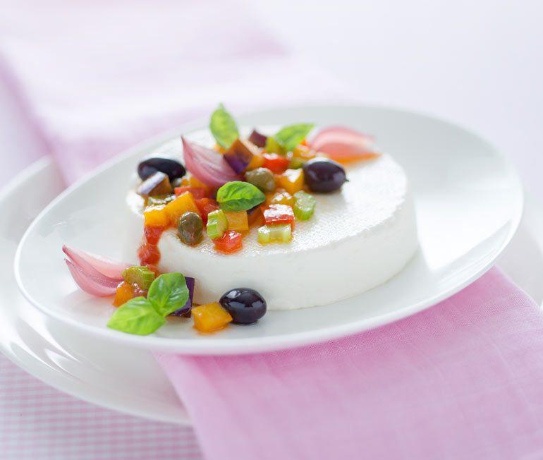 Linea Osella con caponatina light - Ricette Fattorie Osella per Pink is Good
