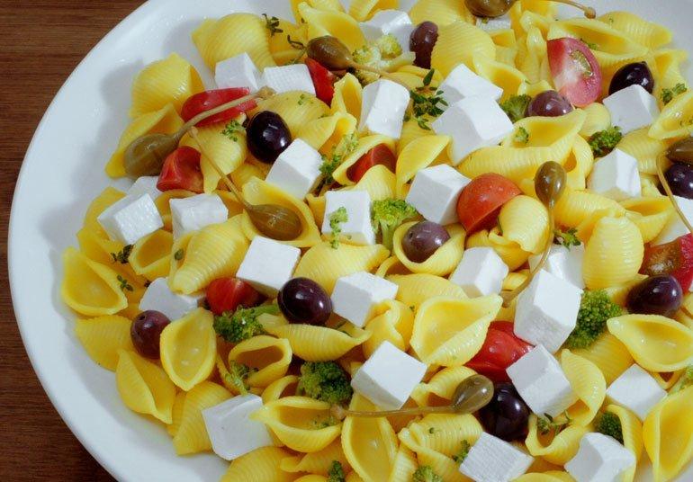 Pasta allo zafferano con Linea Osella