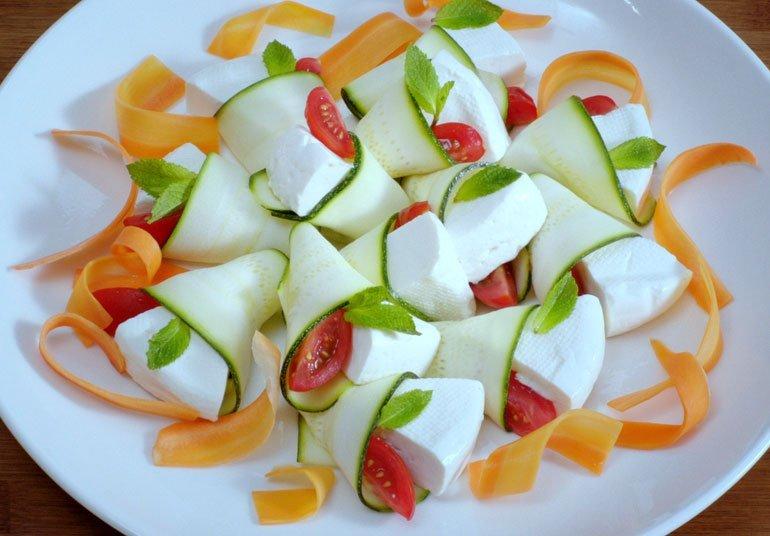 Involtini di Zucchine con Linea Osella