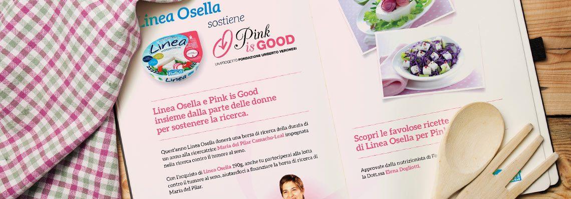 Il ricettario di Fattorie Osella per Pink is Good