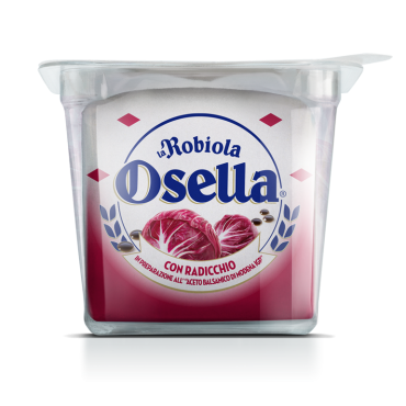 Robiola Osella <br>con Radicchio